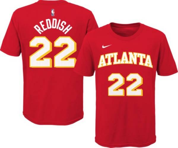 Nike Youth Atlanta Hawks Cam Reddish #22 Red Cotton T-Shirt product image