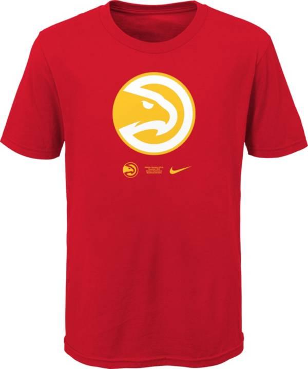 Nike Youth Atlanta Hawks Black Logo T-Shirt product image