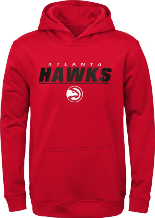 Gen2 Youth Atlanta Hawks Red Static Pullover Hoodie product image