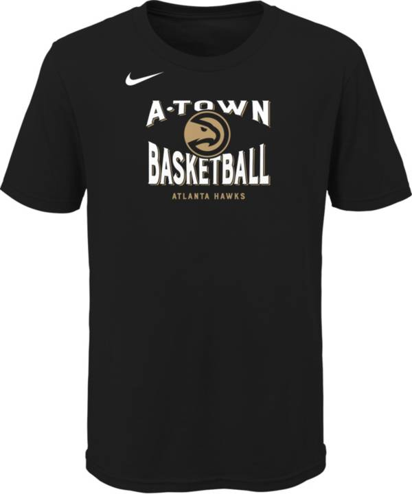 Nike Youth 2020-21 City Edition Atlanta Hawks Story T-Shirt product image