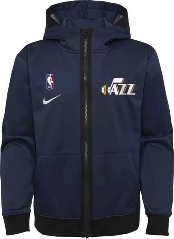 Nike Youth Utah Jazz Blue Spotlight Full-Zip Hoodie product image