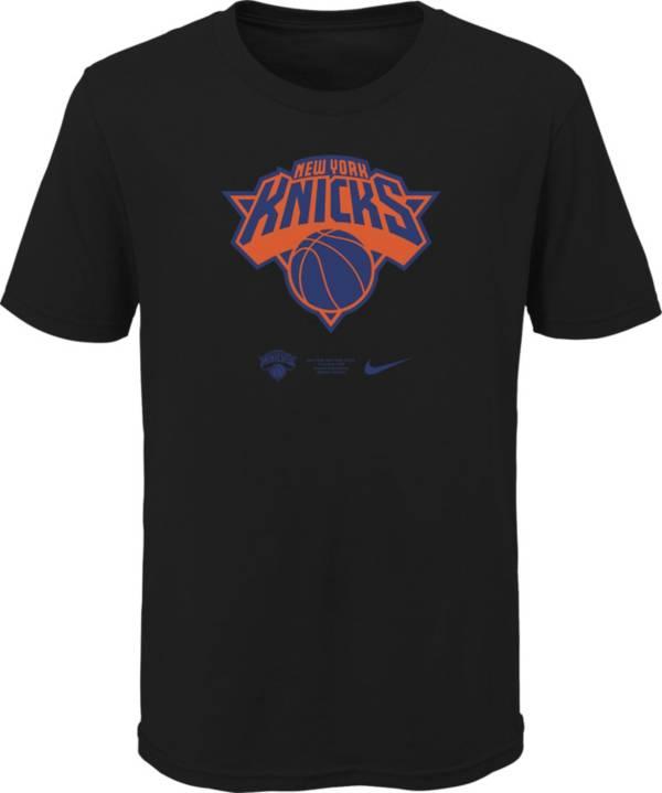 Nike Youth New York Knicks Black Logo T-Shirt product image