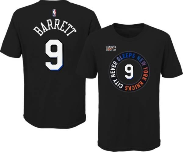 Nike Youth 2020-21 City Edition New York Knicks RJ Barrett #9 Cotton T-Shirt product image