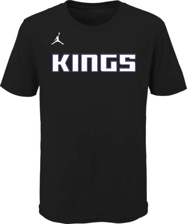 Jordan Youth Sacramento Kings Black Statement T-Shirt product image