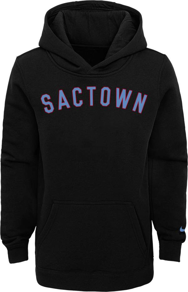 Nike Youth 2020-21 City Edition Sacramento Kings Logo Pullover Hoodie product image