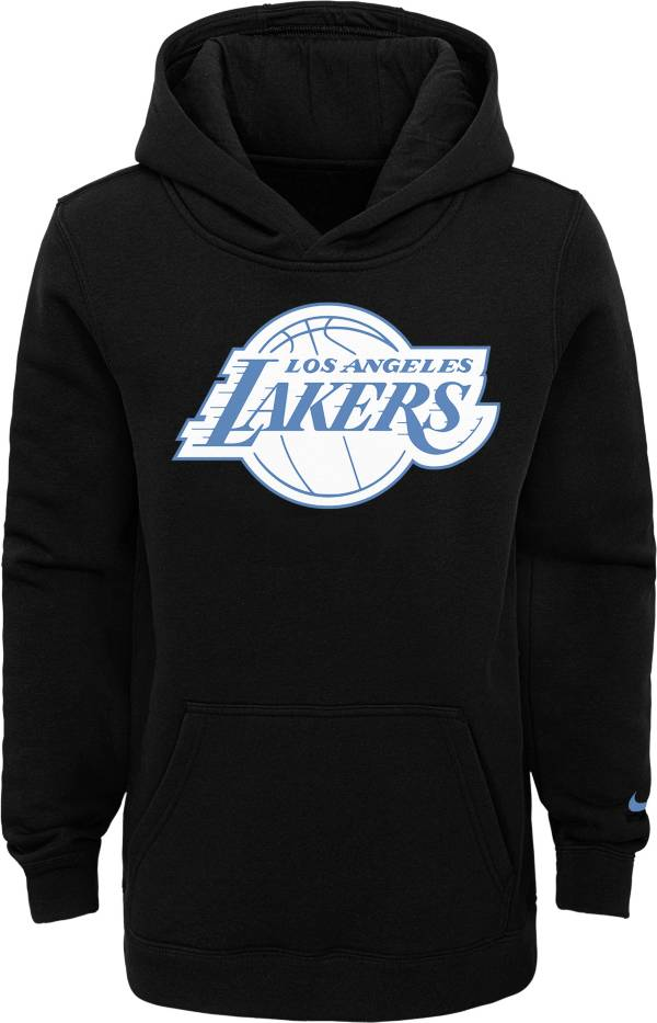 Nike Youth 2020-21 City Edition Los Angeles Lakers Logo Pullover Hoodie product image