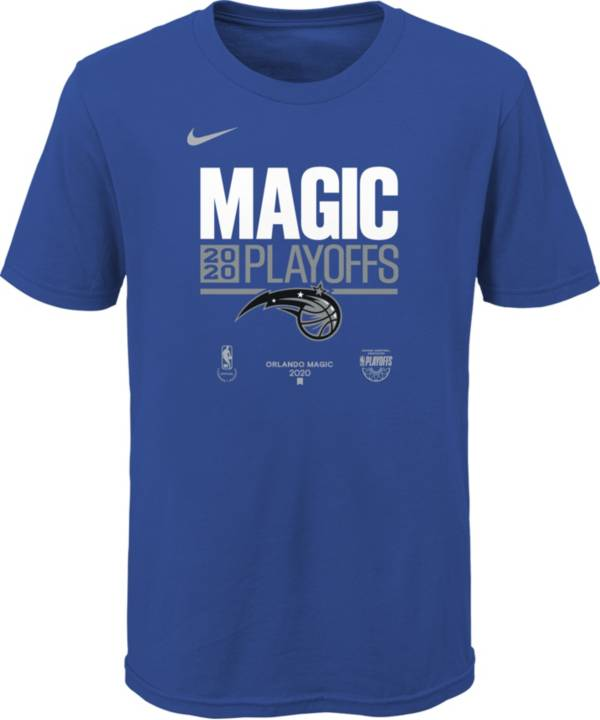Nike Youth Orlando Magic Blue 2020 Playoffs Bound 'Magic Playoffs' Mantra T-Shirt product image