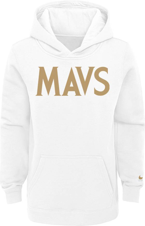 Nike Youth 2020-21 City Edition Dallas Mavericks Logo Pullover Hoodie product image