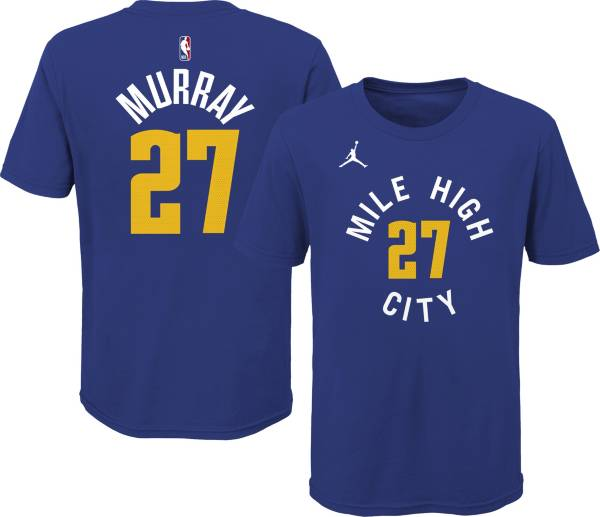 Jordan Youth Denver Nuggets Jamal Murray #27 Bue Statement T-Shirt product image