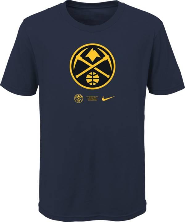 Nike Youth Denver Nuggets Blue Logo T-Shirt product image