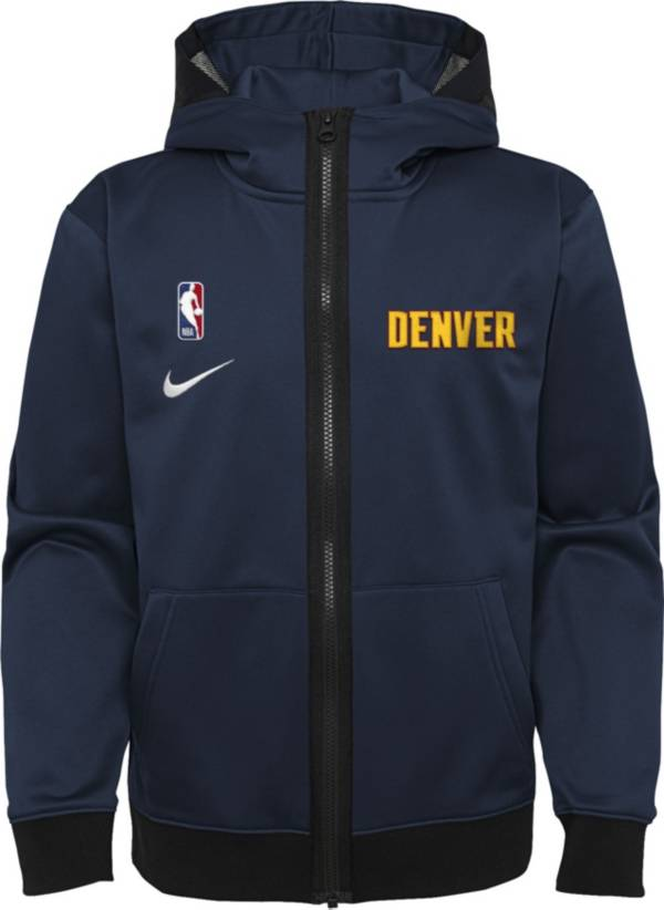 Nike Youth Denver Nuggets Blue Spotlight Full-Zip Hoodie product image