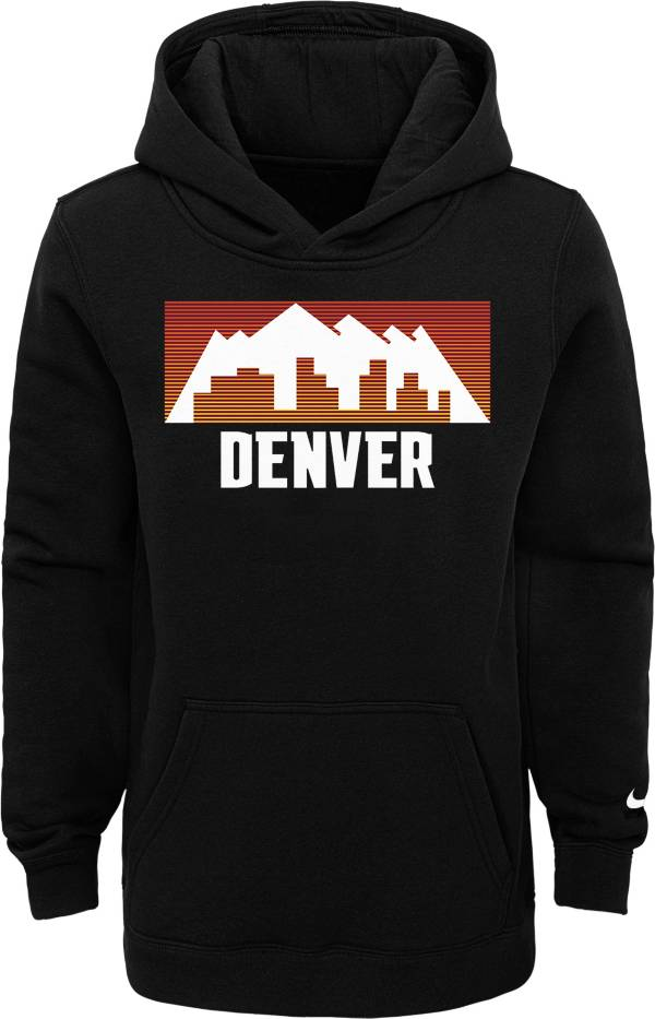 Nike Youth 2020-21 City Edition Denver Nuggets Logo Pullover Hoodie product image
