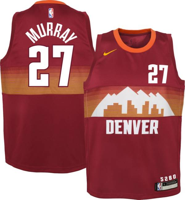 Nike Youth 2020-21 City Edition Denver Nuggets Jamal Murray #27 Dri-FIT Swingman Jersey product image