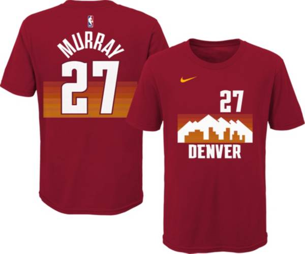 Nike Youth 2020-21 City Edition Denver Nuggets Jamal Murray #27 Cotton T-Shirt product image