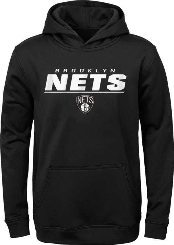 Gen2 Youth Brooklyn Nets Black Static Pullover Hoodie product image