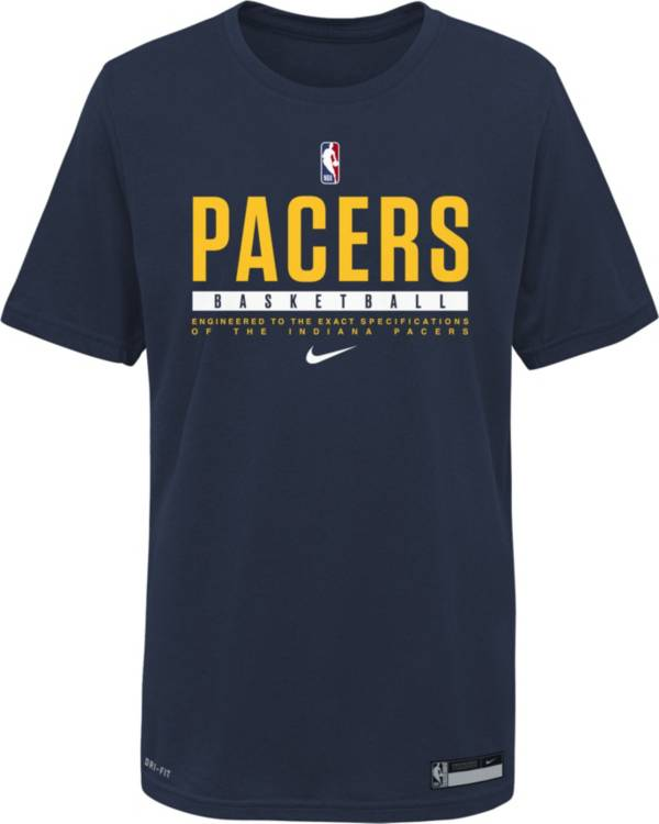 Nike Youth Indiana Pacers Blue Practice Performance T-Shirt product image