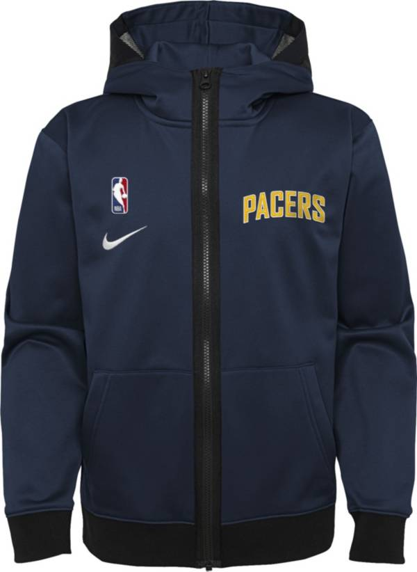Nike Youth Indiana Pacers Blue Spotlight Full-Zip Hoodie product image