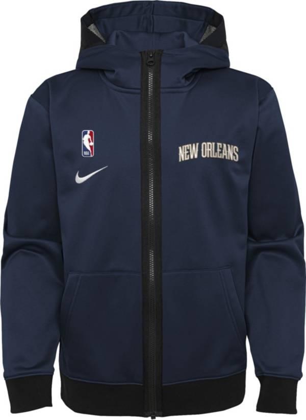 Nike Youth New Orleans Pelicans Blue Spotlight Full-Zip Hoodie product image