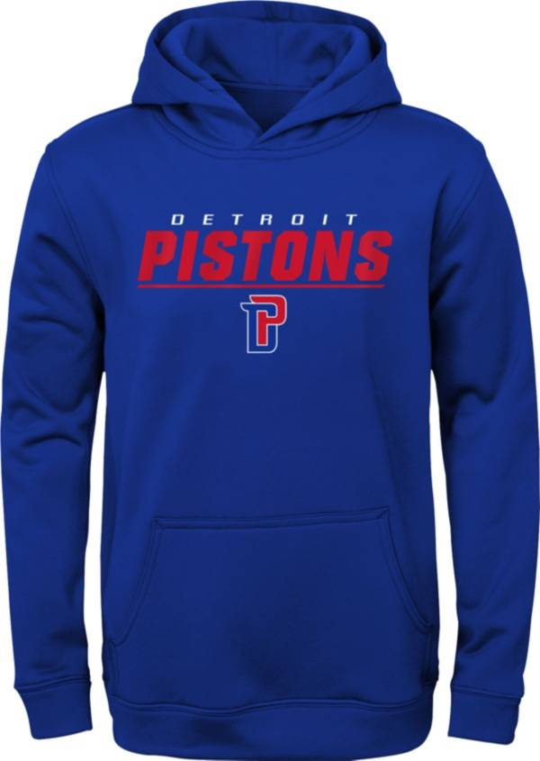 Gen2 Youth Detroit Pistons Blue Static Pullover Hoodie product image