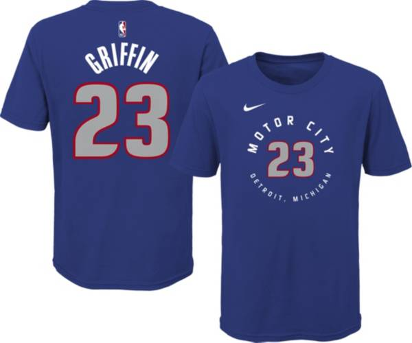 Nike Youth 2020-21 City Edition Detroit Pistons Blake Griffin #23 Cotton T-Shirt product image