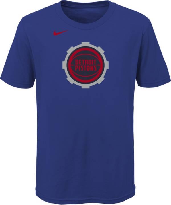 Nike Youth 2020-21 City Edition Detroit Pistons Logo T-Shirt product image