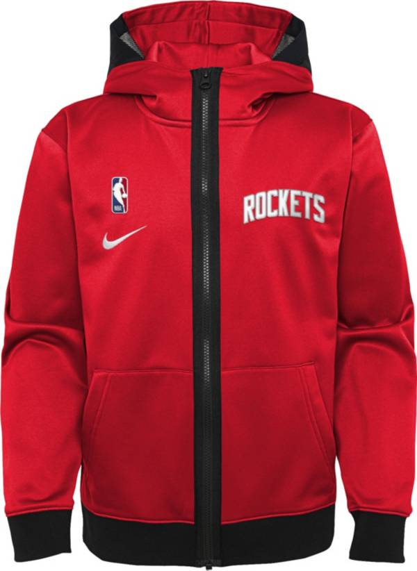 Nike Youth Houston Rockets red Spotlight Full-Zip Hoodie product image