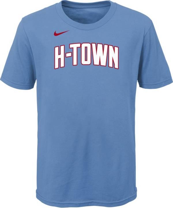 Nike Youth 2020-21 City Edition Houston Rockets Logo T-Shirt product image