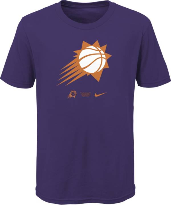 Nike Youth Phoenix Suns Purple Logo T-Shirt product image