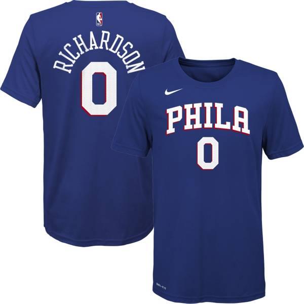 Nike Youth Philadelphia 76ers Josh Richardson #0 Dri-FIT Blue T-Shirt product image