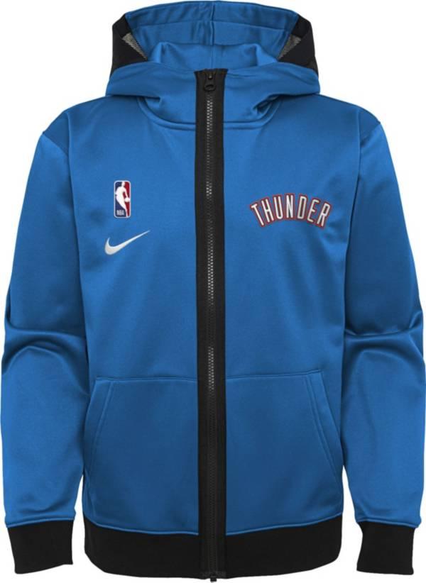 Nike Youth Oklahoma City Thunder Blue Spotlight Full-Zip Hoodie product image
