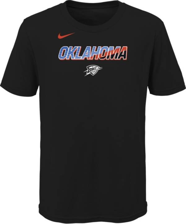 Nike Youth 2020-21 City Edition Oklahoma City Thunder Logo T-Shirt product image