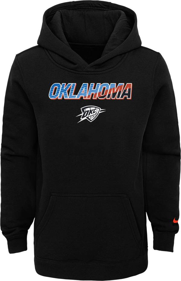 Nike Youth 2020-21 City Edition Oklahoma City Thunder Logo Pullover Hoodie product image