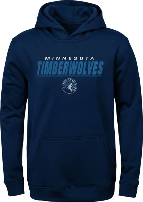 Gen2 Youth Minnesota Timberwolves Blue Static Pullover Hoodie product image