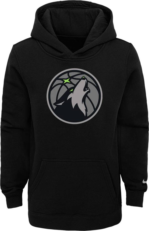 Nike Youth 2020-21 City Edition Minnesota Timberwolves Logo Pullover Hoodie product image