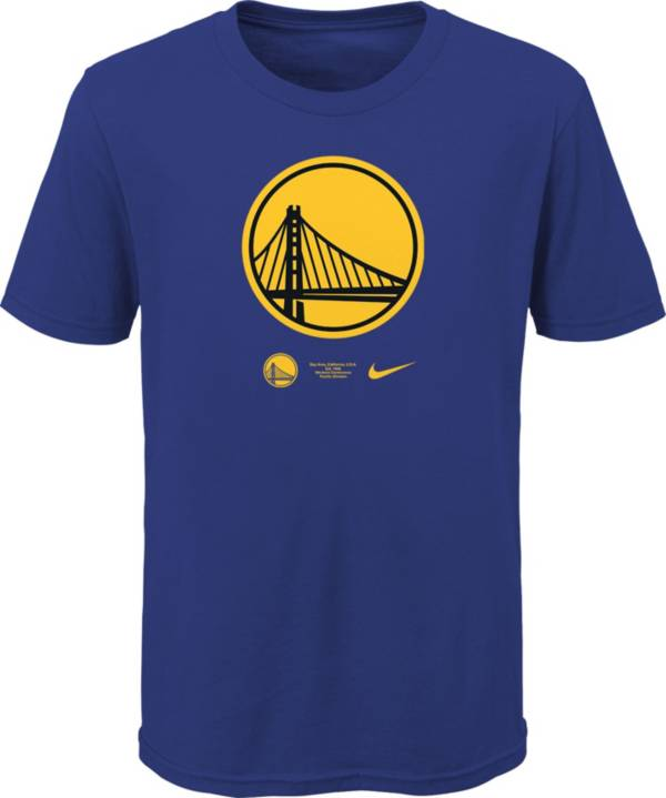 Nike Youth Golden State Warriors Blue Logo T-Shirt product image