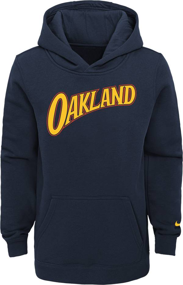 Nike Youth 2020-21 City Edition Golden State Warriors Logo Pullover Hoodie product image