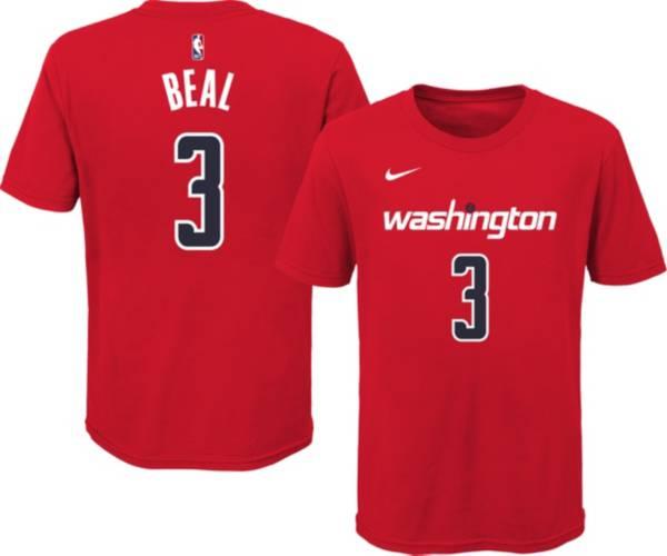 Nike Youth Washington Wizards Bradley Beal #3 Red Cotton T-Shirt product image