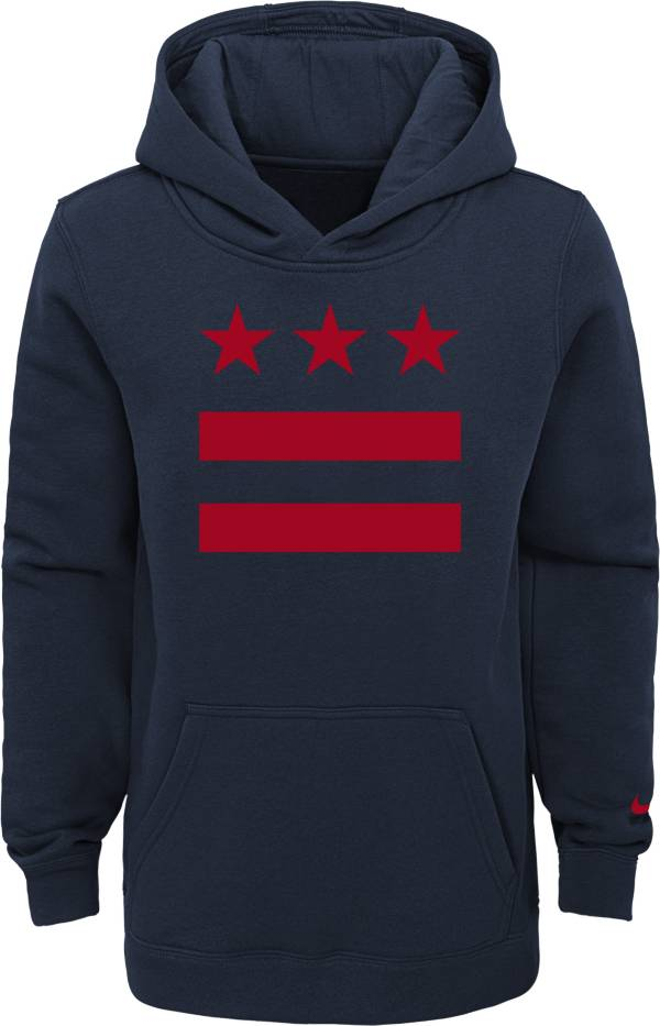 Nike Youth 2020-21 City Edition Washington Wizards Logo Pullover Hoodie product image