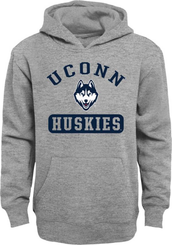 Gen2 Youth UConn Huskies Grey Pullover Hoodie product image