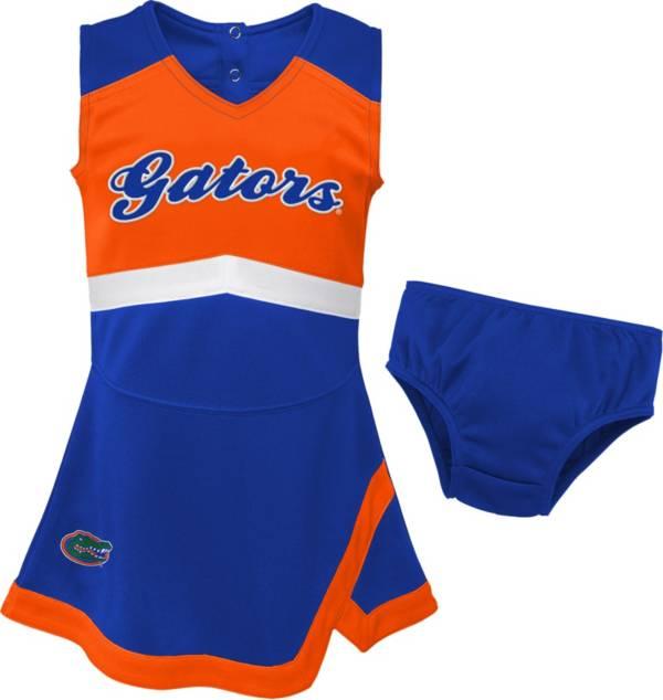 Gen2 Youth Girls' Florida Gators Blue Cheer Captain 2-Piece Jumper Dress product image