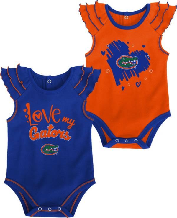 Gen2 Infant Florida Gators Blue 2-Piece Onesie Set product image