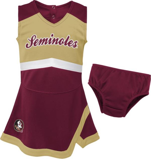 Gen2 Youth Girls' Florida State Seminoles Garnet Cheer Captain 2-Piece Jumper Dress product image