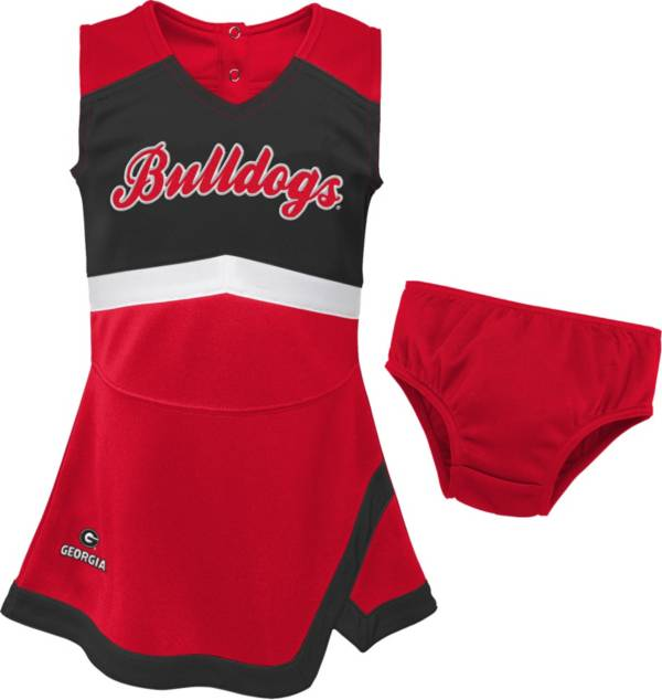 Gen2 Youth Girls' Georgia Bulldogs Red Cheer Captain 2-Piece Jumper Dress product image