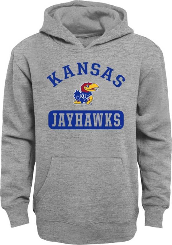 Gen2 Youth Kansas Jayhawks Grey Pullover Hoodie product image