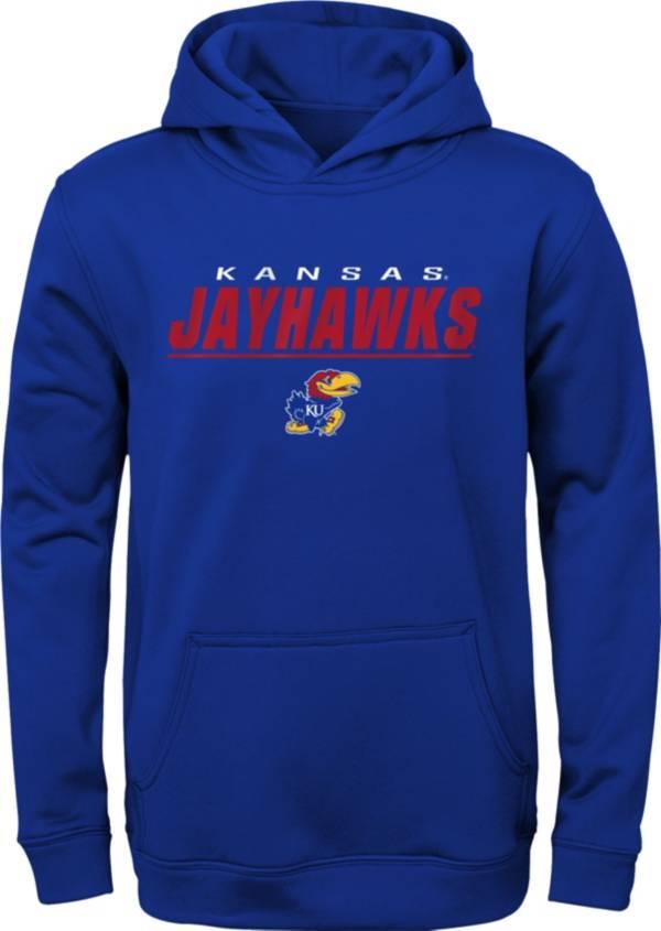 Gen2 Boys' Kansas Jayhawks Blue Pullover Hoodie product image