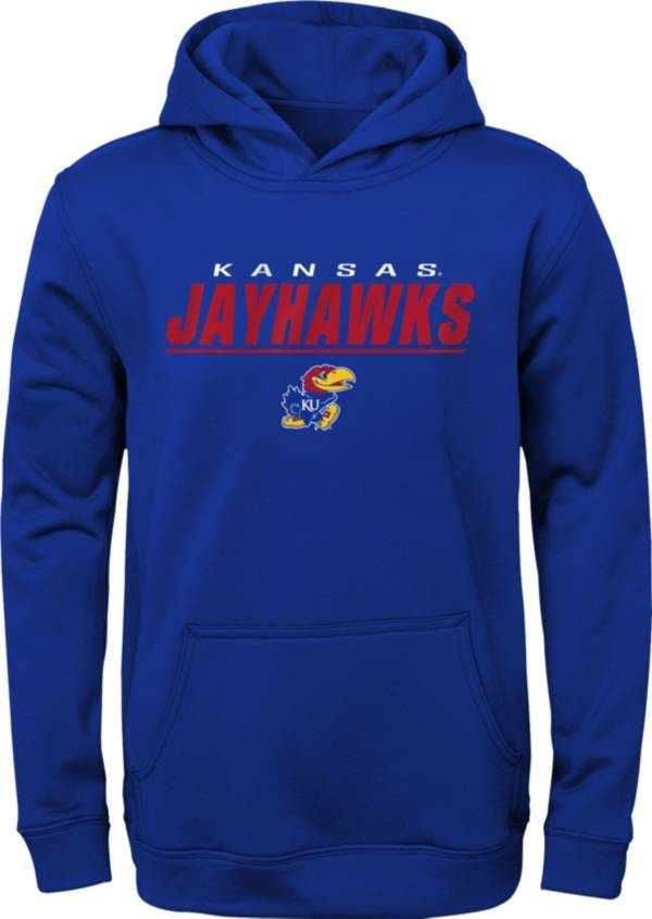 Gen2 Youth Kansas Jayhawks Blue Pullover Hoodie product image