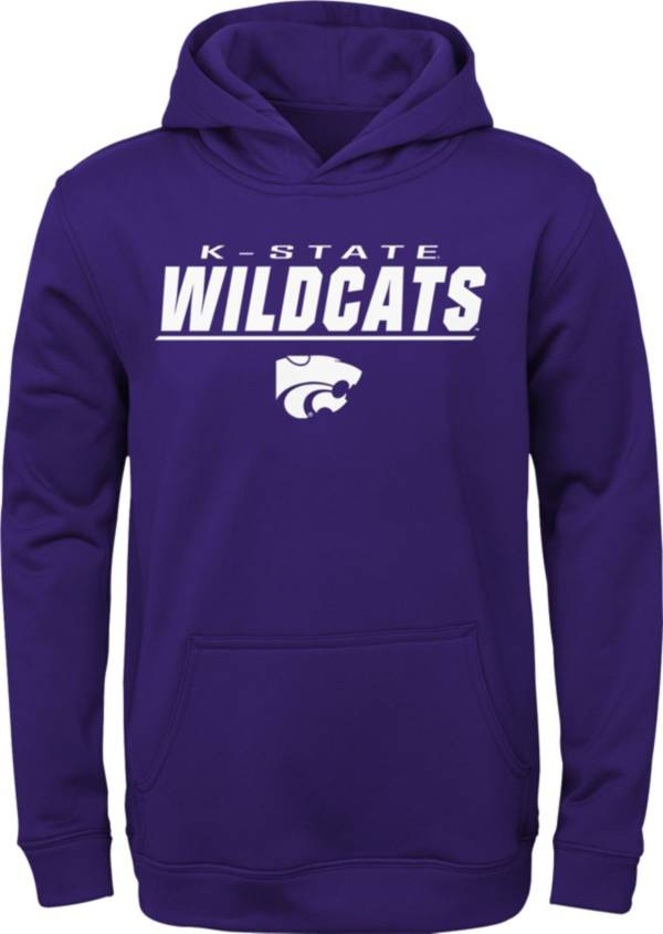 Gen2 Boys' Kansas State Wildcats Purple Pullover Hoodie product image