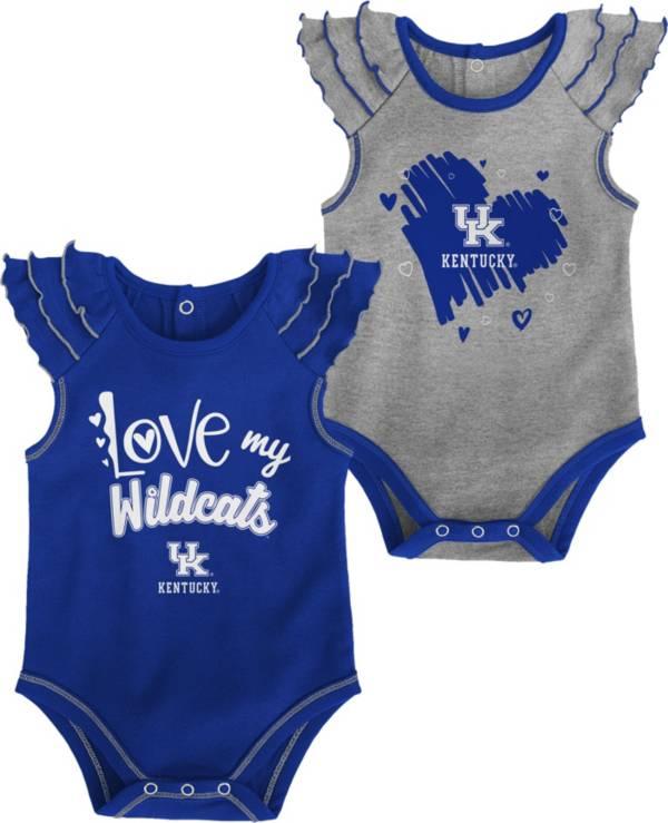 Gen2 Infant Kentucky Wildcats Blue 2-Piece Onesie Set product image