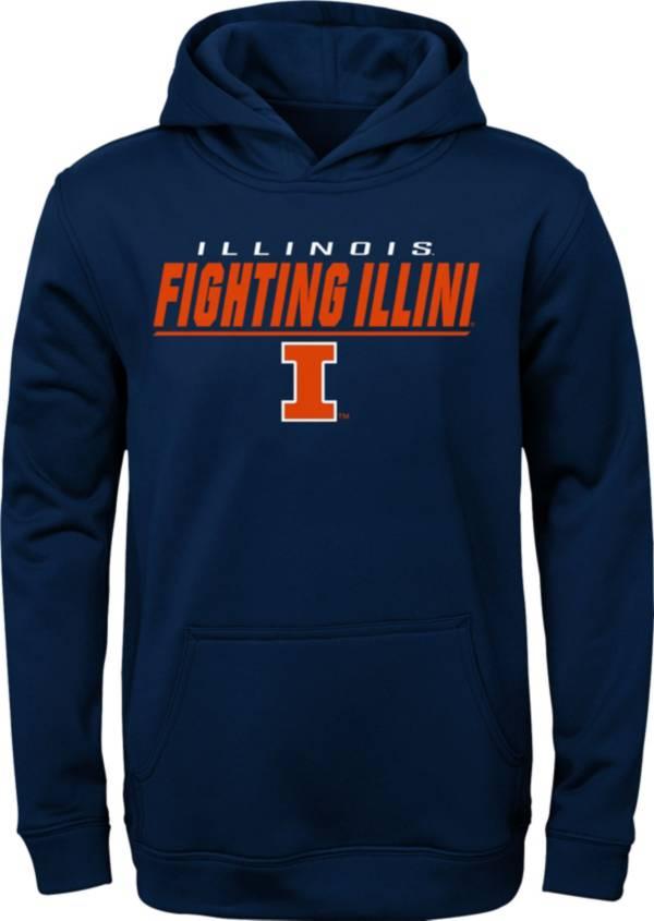Gen2 Boys' Illinois Fighting Illini Blue Pullover Hoodie product image