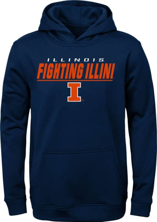 Gen2 Youth Illinois Fighting Illini Blue Pullover Hoodie product image